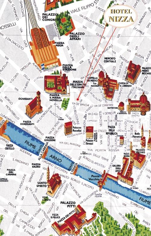 Hotel Nizza A Firenze