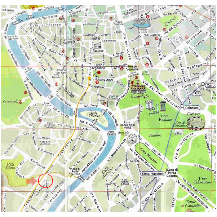 Bed & Breakfast Roma: Orti di Trastevere Bed & Breakfast - Itana