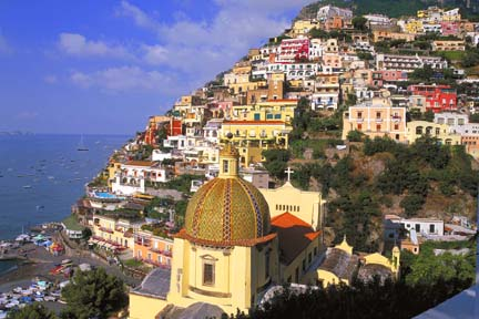 how to get from salerno to positano